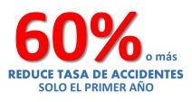 reducir tasa de accidente, disminuir riesgos de conduccion